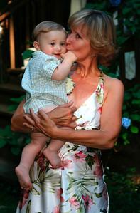 Kellie's mom & her grand-son