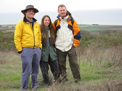 Hiking in Santa Cruz with Kurth (Dec 2006)