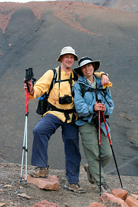 Craig & Elisabeth (somewhere in the High Atlas in Morocco), September 2005