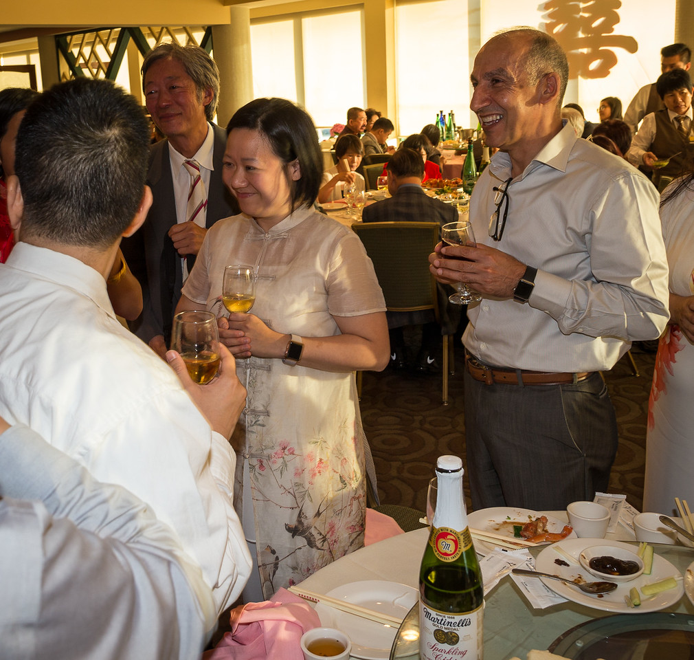 Jason Hu and Dominique's wedding reception at East Ocean Harbor.