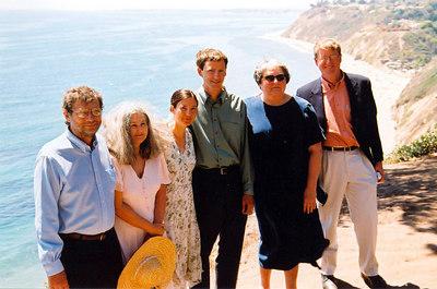 Matt, Chandra & parents (July 2004)