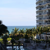 view from our balcony the St. Regis Bal Harbour in Miami, FL.