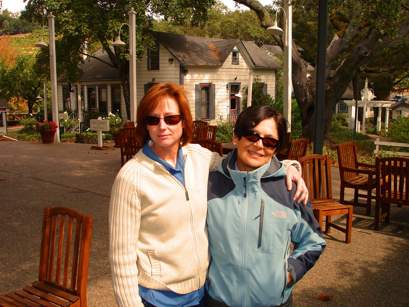 Wendy's Wine Tour:  Rose & Alicia at Bentzinger Winery
