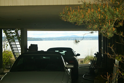 Nice view..from the garage!