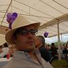 Carlos in Yamil's hat