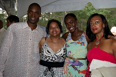 Kunle, Keisha's Mom, Keisha & Dee.