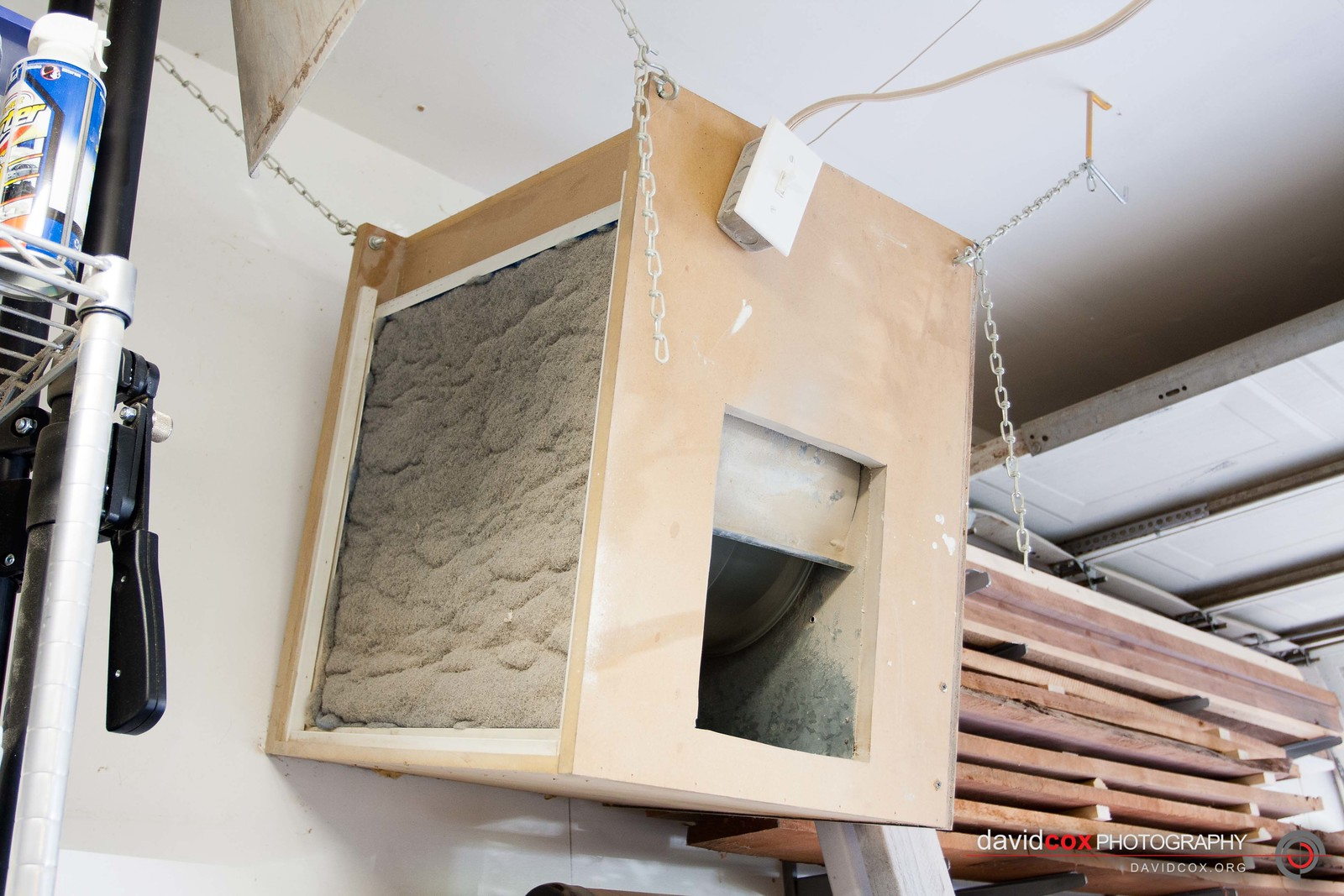 shop-built 3-stage air cleaner filter | david cox woodworks