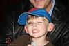 Shy Josh showing off  his black eye!