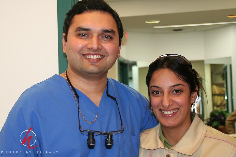 Dr. Jitan Gohel and his wife
