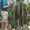 O.C. Marsh Botanical Garden Director Eric Larson leads the tour