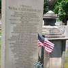 Roger Sherman Marker in Grove Street Cemetery