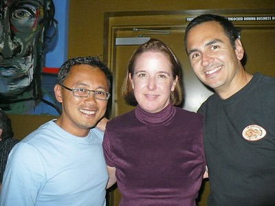 Alvin, Monica, and Darryl