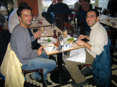 Yiannis and Panos 2005 Panos and Yiannis at Oscar