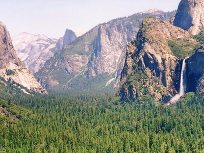 Yosemite with Eric 1995