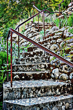 Stairs to the River