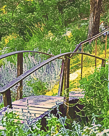 Garden Footbridge