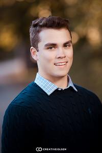 101518 Zach DeVine Senior Portraits