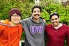 Fumito, Amir and Amir's cousin Thabit.