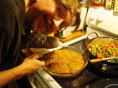 Mark cooks