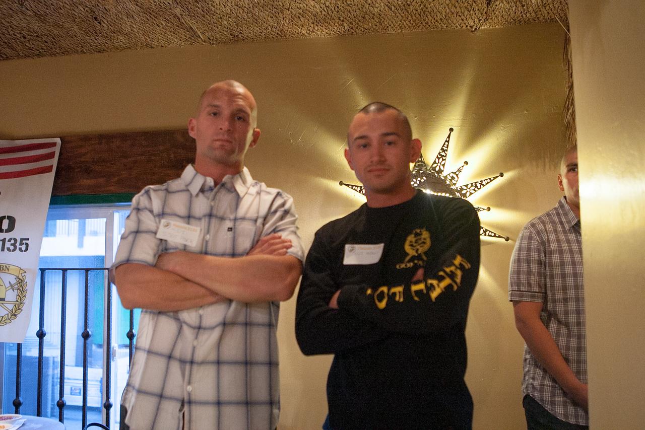 Taylor's drill instructors