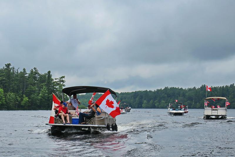 July 1, 2017 - Black Lake Flotilla 155