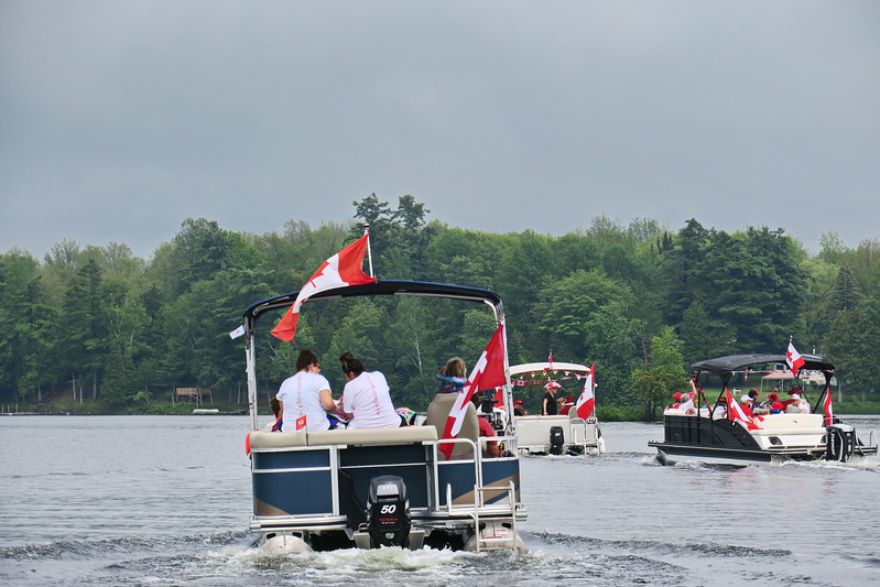 July 1, 2017 - Black Lake Flotilla 165