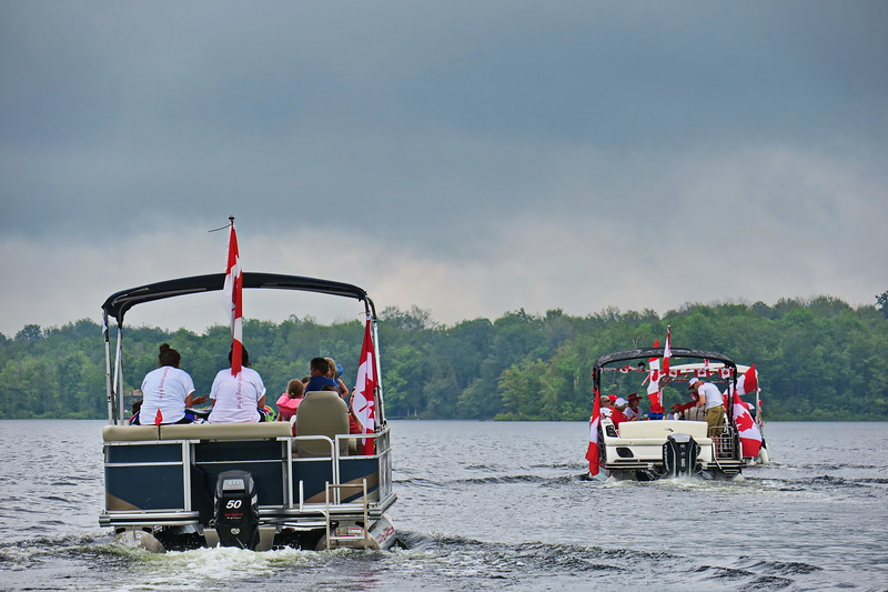 July 1, 2017 - Black Lake Flotilla 145