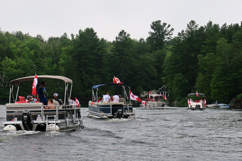 July 1, 2017 - Black Lake Flotilla 093