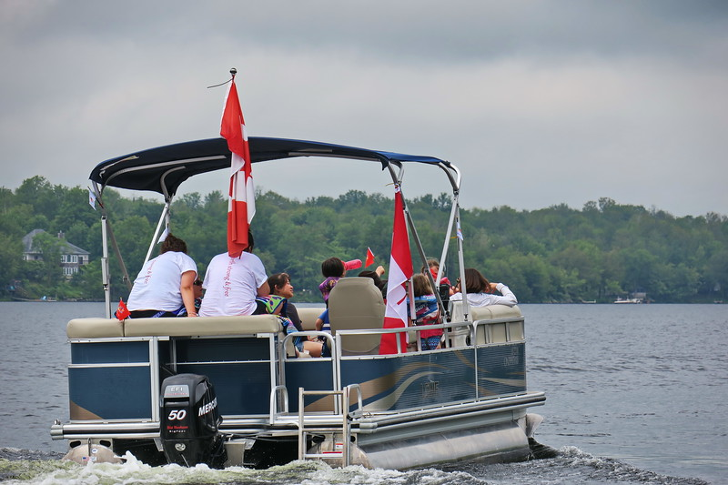 July 1, 2017 - Black Lake Flotilla 190