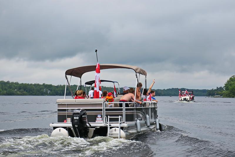 July 1, 2017 - Black Lake Flotilla 189