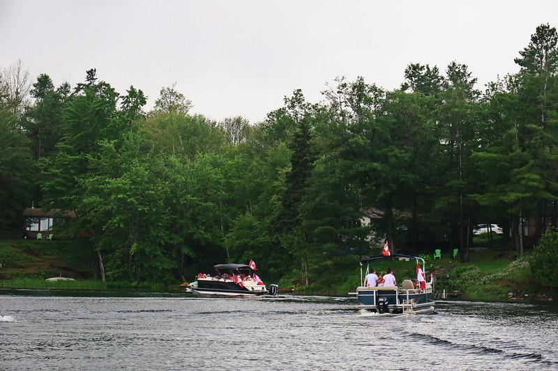 July 1, 2017 - Black Lake Flotilla 103