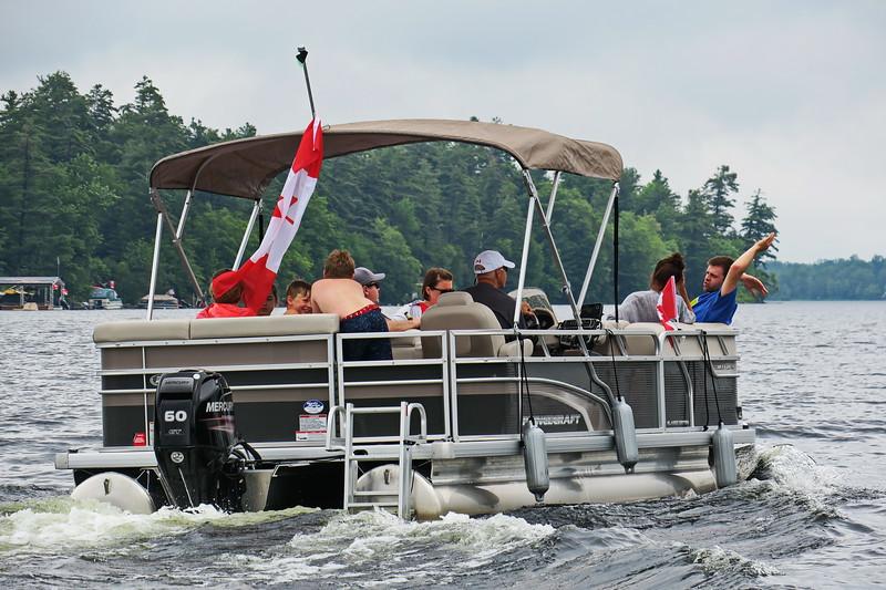 July 1, 2017 - Black Lake Flotilla 146