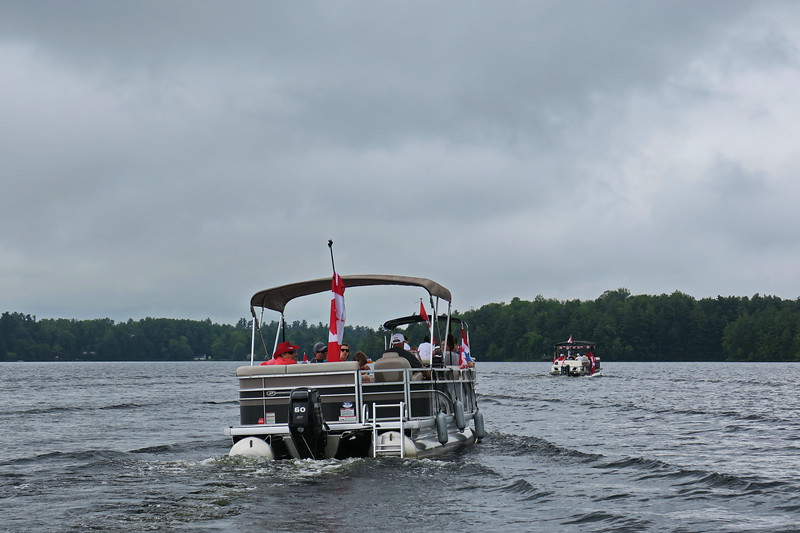 July 1, 2017 - Black Lake Flotilla 124