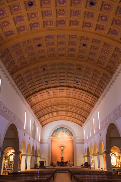 Interior of St. Augustine Catherdral Church