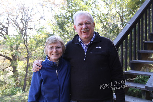 Mark and Lucy Magnuson Visit - Oct 2015