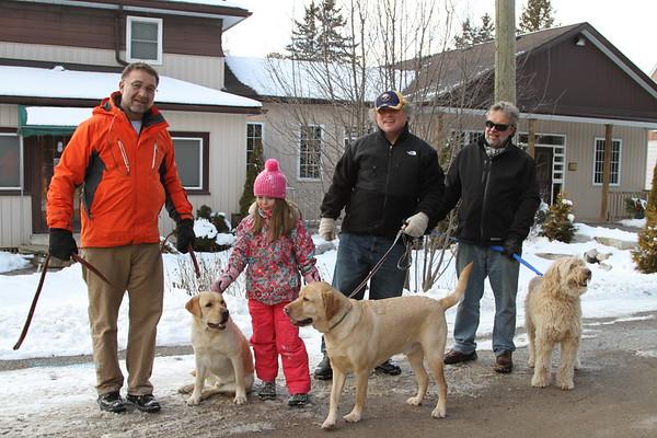 Family/President's Weekend fun in Sharon, Ontario