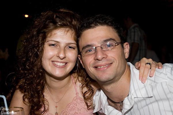 Moran and me - photograph by Shahar Ben Varon.