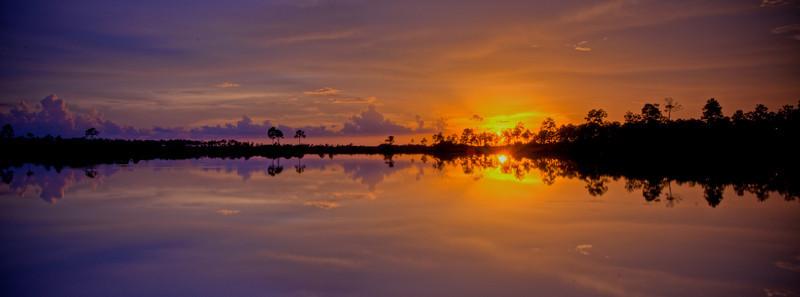 Sunset Pine Glades Lake 8.7.10 #2