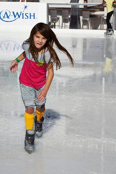 Sophia Ice Skating on December 23rd