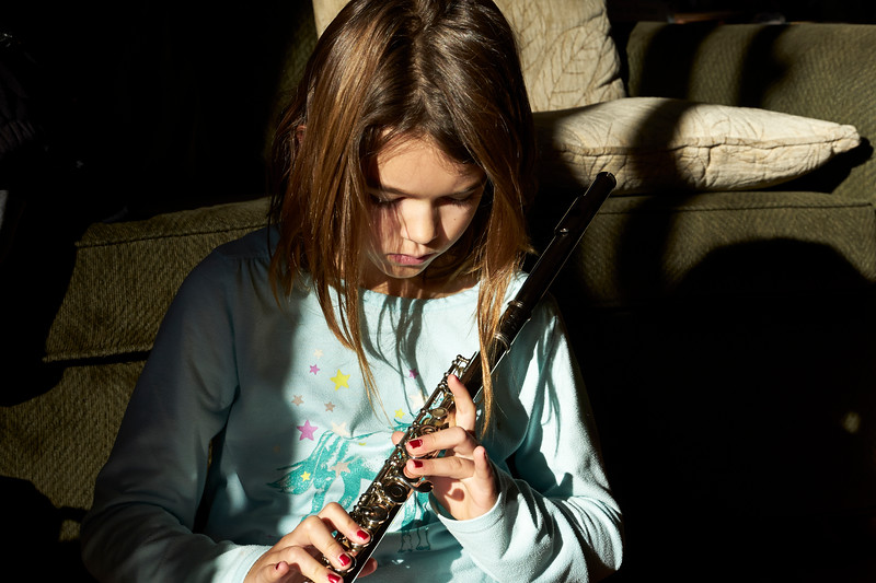 Katerina with her Flute