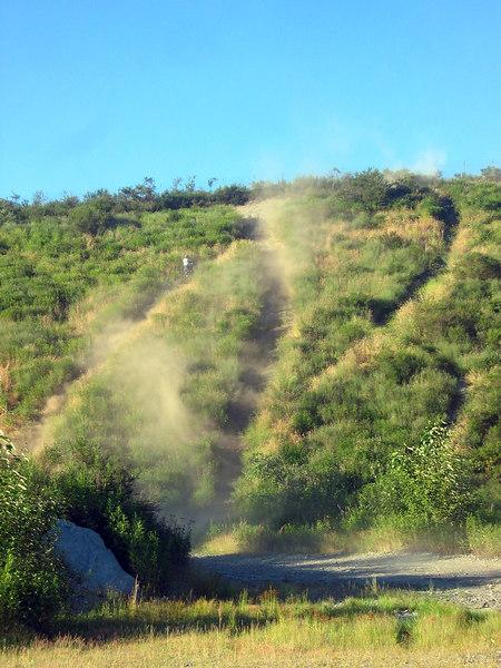 fun hill climb on the course