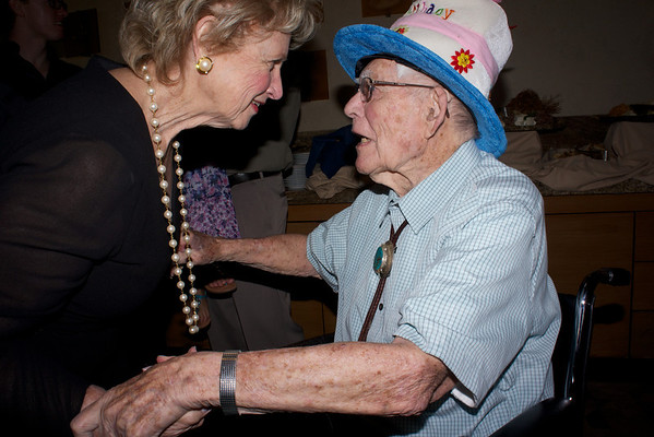 Dad's 99th Birthday celebration