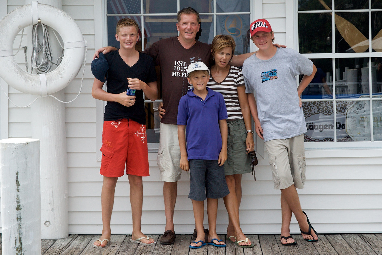 Gunilla's family 2009