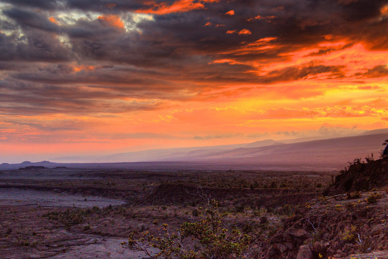Sunset Volcano National Park