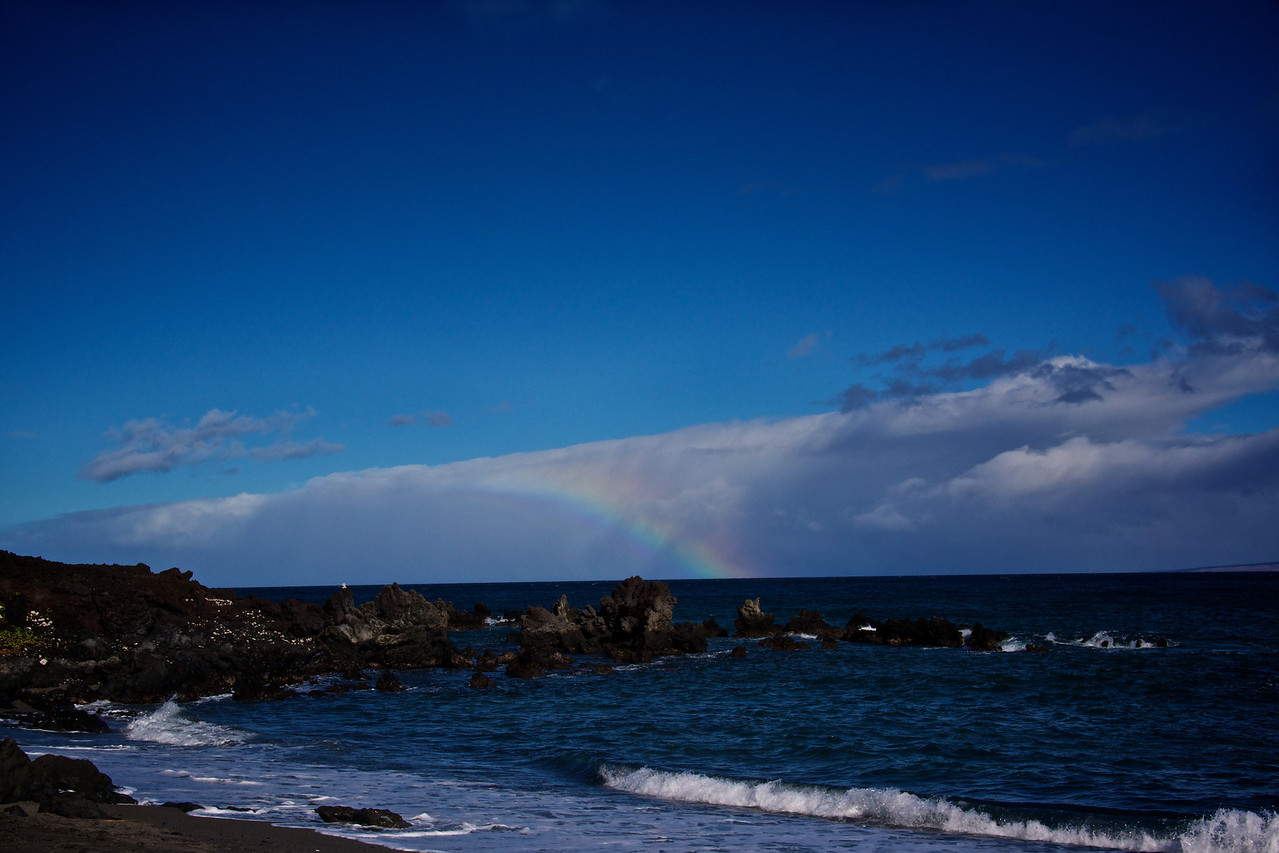 Rainbow near Honokapoe Bay