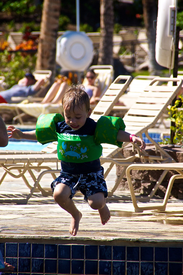 Luc jumping
