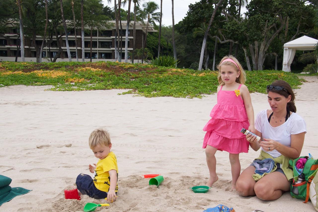 Luc Claire Kristen at Mauna Kea