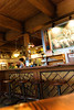 awesome pub house, notice the size of the supporting beams