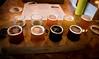 sampler at fort george brewery