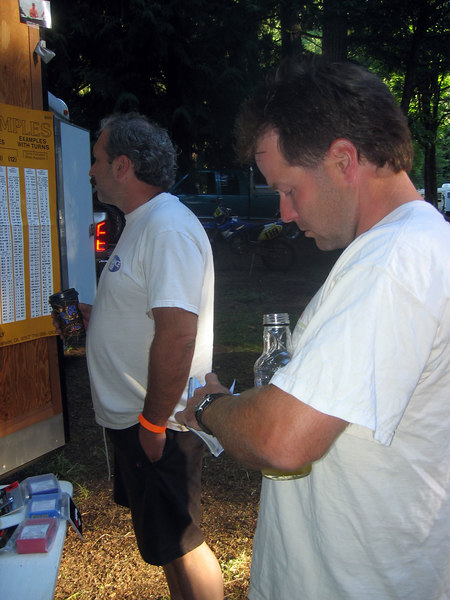 scott and dave at the enduro